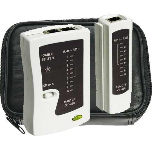 Kabeltestgerät LAN Tester LAN ISDN Modem RJ11 RJ12 RJ45