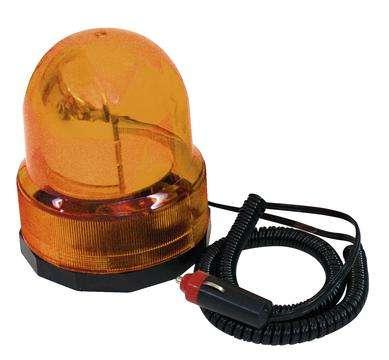 Alarmlicht 12V Drehlicht mit Magnet Orange Polizeilicht