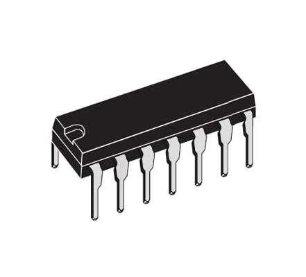 4075 BE CMOS IC DIP14 = CD4075BE 2xBuffer 3Input OR Gate
