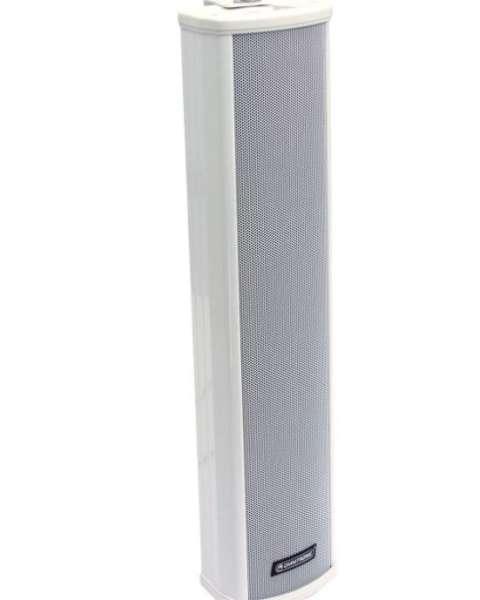 Tonsäule 69cm 60W ELA 100V SCS328 Weiss ALU