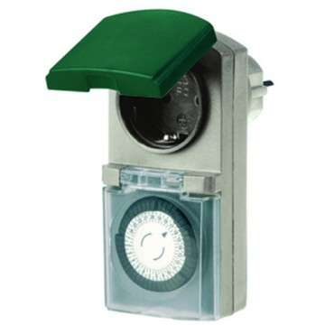 Zeitschaltuhr Outdoor Uhr bis 3600Watt belastbar