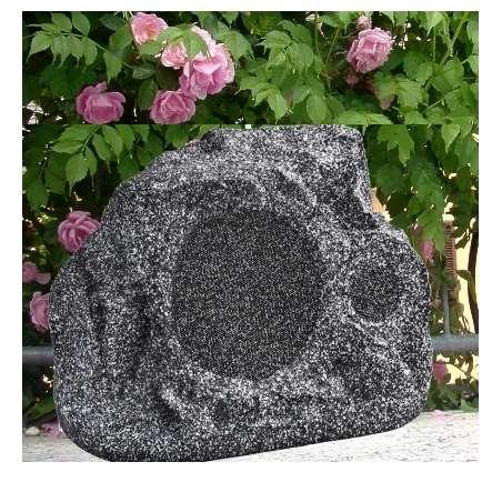 Steinlautsprecher Gartenlautsprecher Rock 90W 2-wege 8ohm und 100V ELA