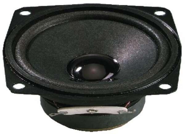 66mm Lautsprecher Quadratisch 8W 4ohm SP-7/4SQ