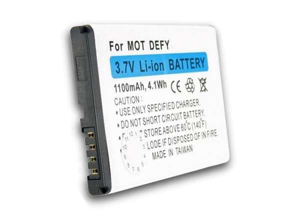 Ersatzakku Handyakku zu Motorola Defy MB520 525 BF5X 1100mAh Li-Ion OEM