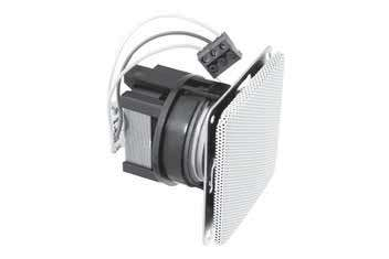 Steckdosen Lautsprecher mit 100V ELA Trafo Jung Weiss