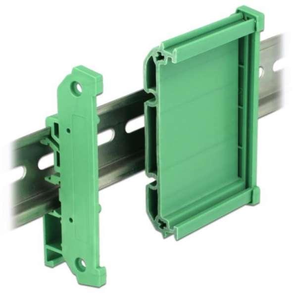 Hutschiene Platinenhalterung für Platine 100x72mm Gehäuse DIN Rail Gehäuse TS35