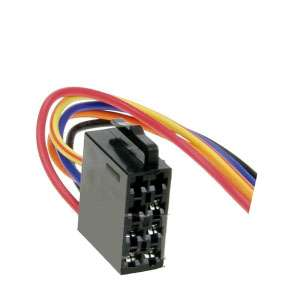 Autoradio Adapter ISO Buchse zu Stromversorgung mit leeren Kabelenden