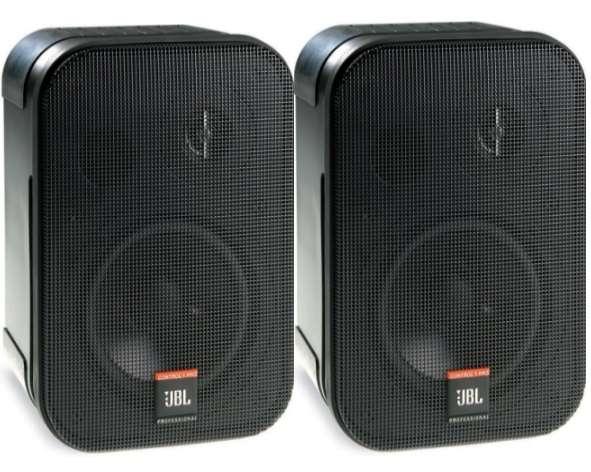 Lautsprecherboxen 2x150W JBL Control-1Pro Boxen Schwarz