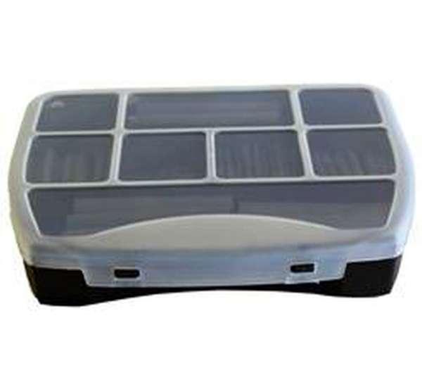 Schrumpfschlauch Sortiment 280tlg Kunststoff-Box Schwarz