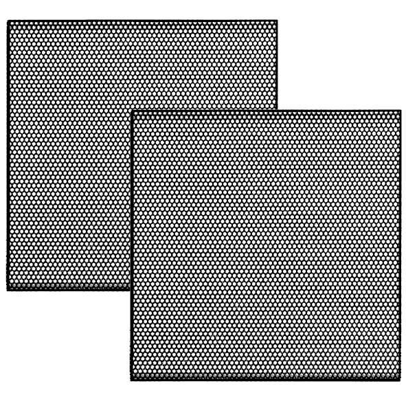 Lautsprecherabdeckung Schutzgitter 85x85x9mm
