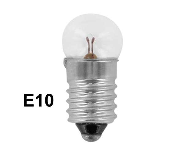E10 14V Glühlampe E10 Kugellampe 14V 2,8W 200mA Range 12-16V