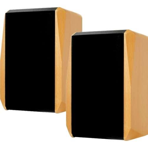 Lautsprecherboxen 2x80W Boxen 8Ohm Buche