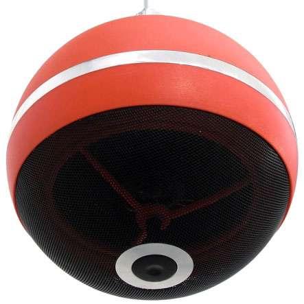 Kugellautsprecher Deckenlautsprecher 15W 210mm Rot