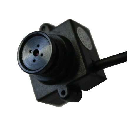 MiniKamera CVBS Analog 20x20mm Tarnkamera mit Knopf-Objektiv