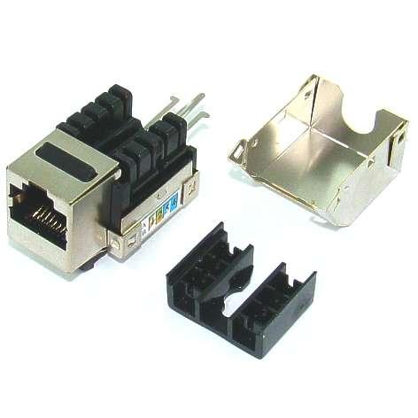 RJ45 Buchse Patchkupplung für Cat Kabel oder Panelmontage