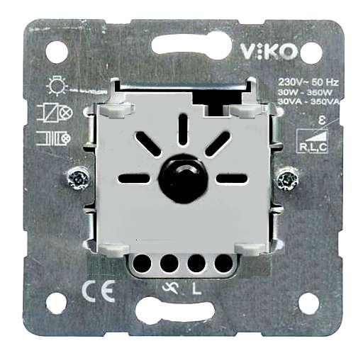 Dimmer Unterputz UP 230V bis 350W für Halogenlampen und Trafos