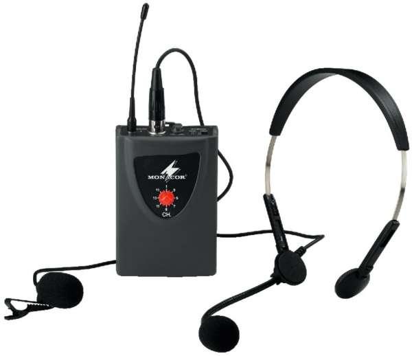 Taschensender mit Headset Mikrofon
