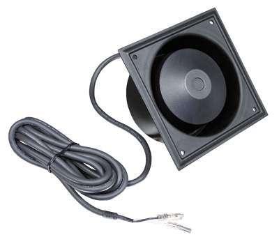 Einbaulautsprecher Druckkammerhorn 100V ELA ALU --Schwarz--