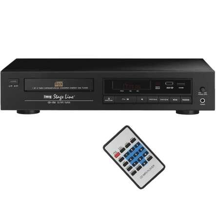 MP3 USB mit CD Player Single- oder Rackeinbau mit Fernbedienung