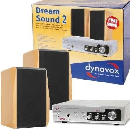 Verstärker Lautsprecher Set Multimedia Dream Sound Set2 Buche