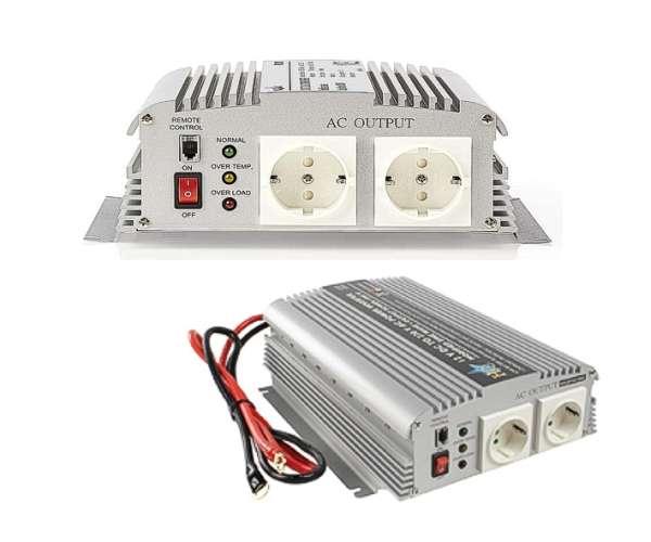 Spannungswandler 12V auf 230V 1000W max 2400W