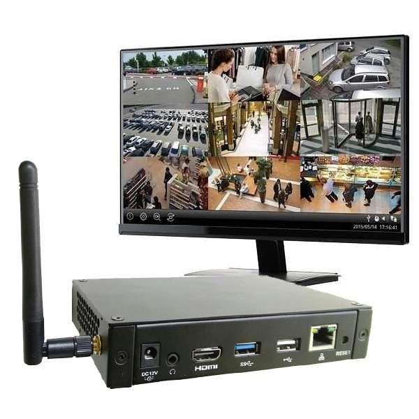 IP Decoder Box LAN und WLAN Eingang auf HDMI Ausgang Android APP Basis