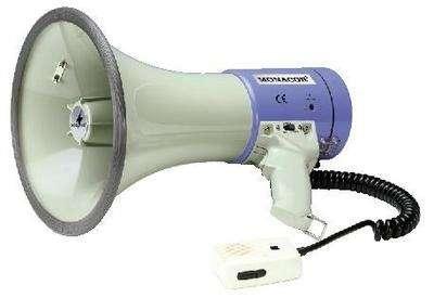 Megafon VM25 25W Megaphon Batteriebetrieben mit Kabelhandmikrofon