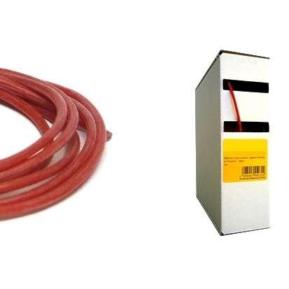 25m Silikonkabel 1qmm Rot Temperaturfest bis 180grad
