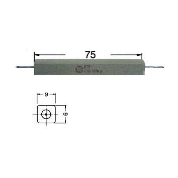 2,7ohm 2R7 Widerstand 17W axiale Drähte