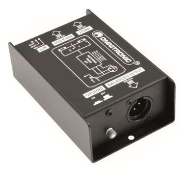 DI Box Audio Trenntrafo Klinke XLR Massetrenner Masse Entkoppler Massetrenner