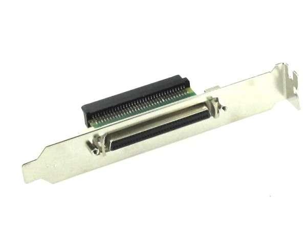 SCSI Slotblech 68pol Buchse auf 68pol Buchse HalfPitch