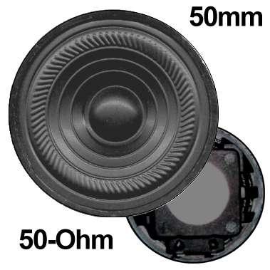 50mm 50ohm Sprechanlagen Lautsprecher